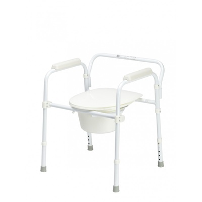 Foldable Commode/Over Toilet Aid