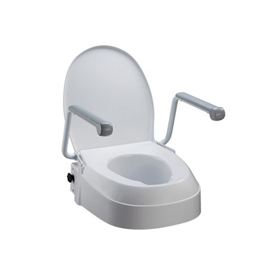 Toilet Seat Raiser Swing Back