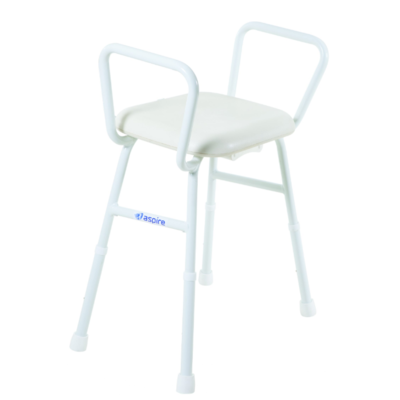 Aspire Shower Stool Padded Seat